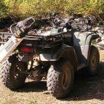 Chainsaw Scabbard on ATV